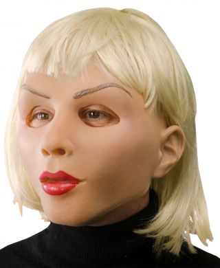 Beautiful Blonde Mask
