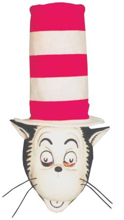 Cat In the Hat Mask & Hat