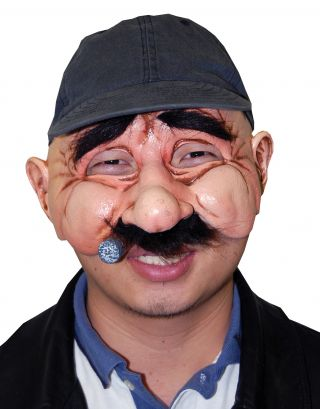 Stan The Man Latex Mask
