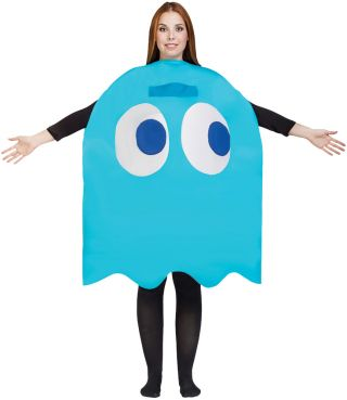 Adult Inky Costume - Pac Man