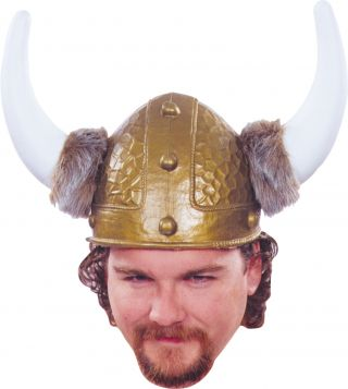 Viking Helmet Gold 1