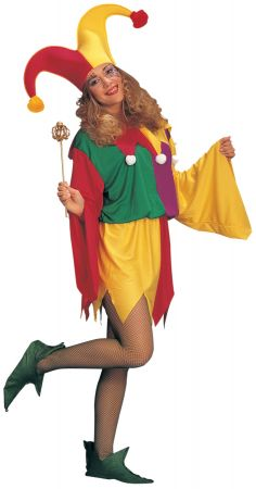 Women's King Jester Costume