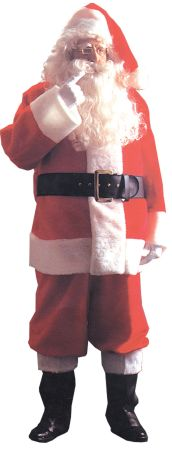 Men's Santa Suit Plush 5591