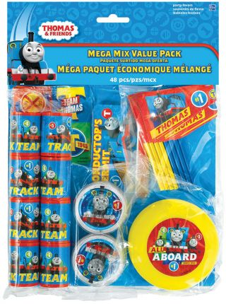Thomas The Tank Favor Value Pack