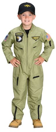 Boy's Fighter Pilot Costume