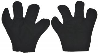 Black Mouse Mitts