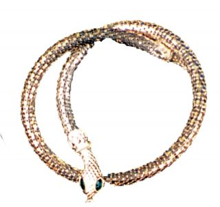 Necklace Snake Silver