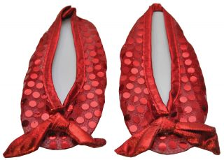 Girl's Ruby Slippers Shoe Covers - Wizard of Oz