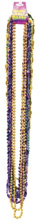 "48"" Beads Mardi Gras - Pack of 12"