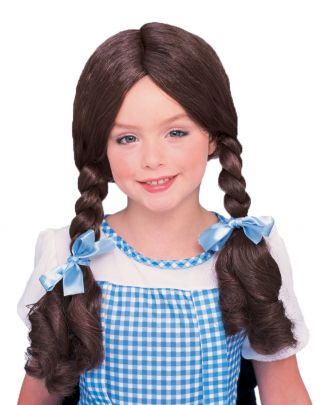 Girl's Dorothy Wig - Wizard of Oz