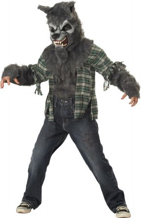 Boy's Howling At The Moon Costume