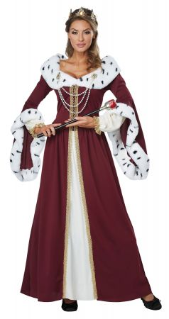Women's Royal Storybook Queen Costume