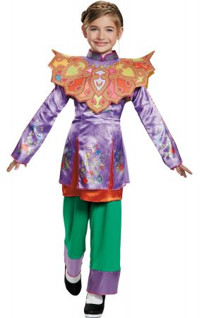 Girl's Alice Asian Look Classic Costume - Alice Through The Looking Glass Movie