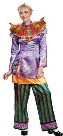 Women's Alice Asian Look Deluxe Costume - Alice Through The Looking Glass Movie