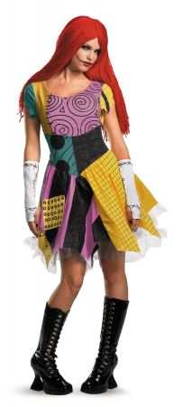 Women's Sassy Sally Deluxe Costume - Nightmare Before Christmas