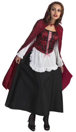 Women's Red Riding Hood Deluxe Costume