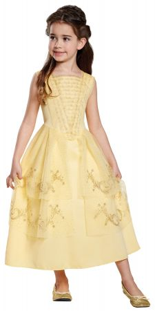 Girl's Belle Ball Gown Classic Costume - Beauty & The Beast Live Action