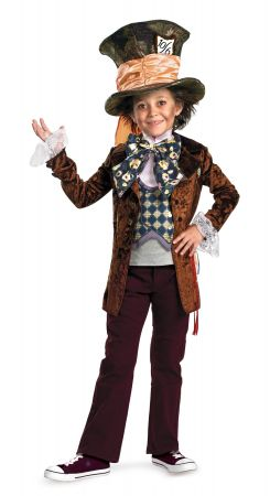 Boy's Mad Hatter Deluxe Costume - Alice In Wonderland Movie