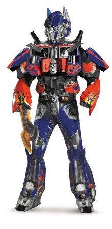 Men's Optimus Prime Theatrical/Rental Quality Costume - Transformers Movie 5