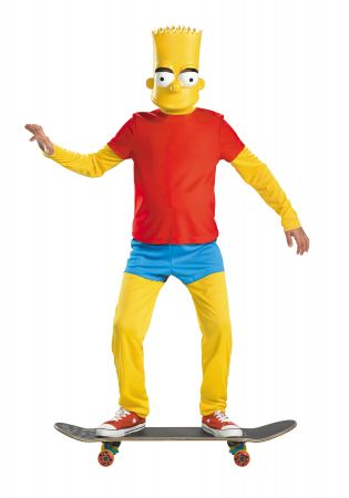 Boy's Bart Simpson Deluxe Costume - The Simpsons