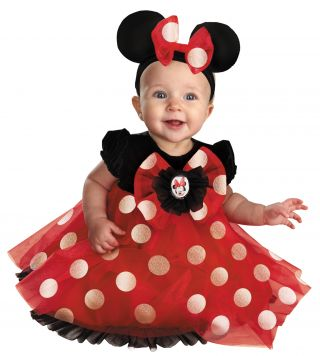 Red Minnie Deluxe Costume
