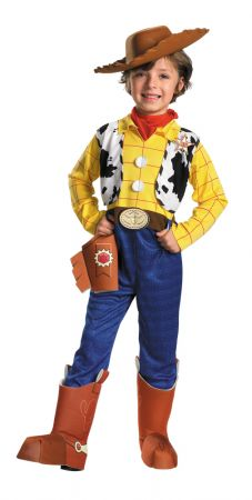 Boy's Woody Deluxe Costume - Toy Story