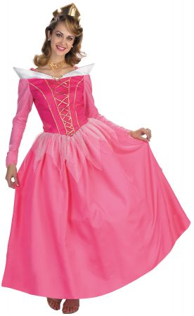 Women's Aurora Prestige Costume - Sleeping Beauty