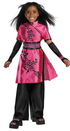 Girl's Galleria Deluxe Costume - Cheetah Girls