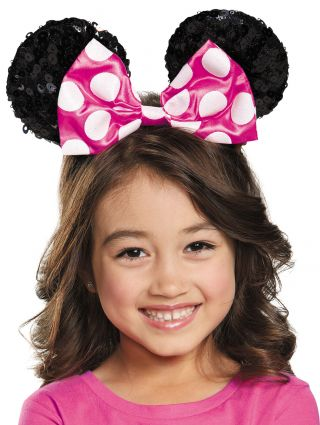 Pink Minnie Sequin Ears