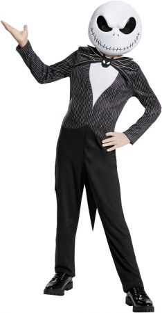 Boy's Jack Skellington Classic Costume - The Nightmare Before Christmas