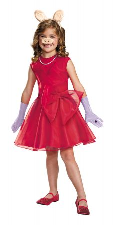 Girl's Miss Piggy Classic Costume - The Muppets
