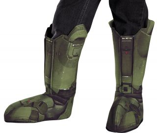 Boy's Master Chief Boot Covers - Halo