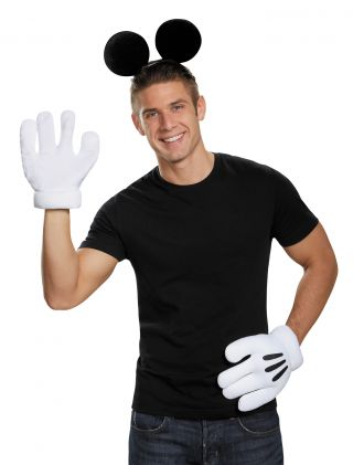 Mickey Mouse Ears Gloves