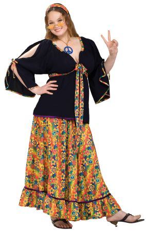 Women's Plus Size Groovy Mama Costume