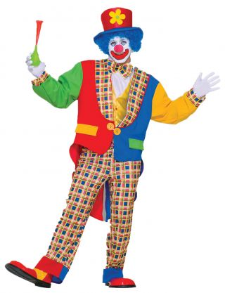 Women's Clown On the Town Costume