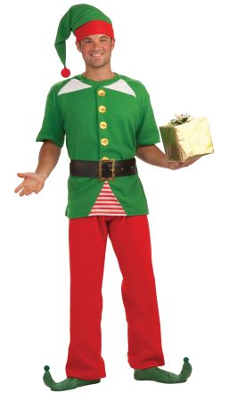 Men's Jolly Elf Costume