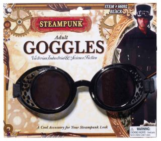 Steampunk Black Goggles