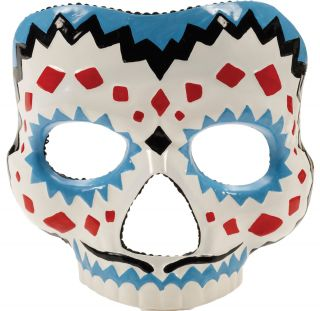 Men's Day of the Dead Mask