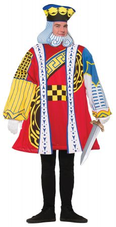 Men's King of Cards Costume