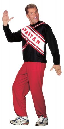 Cheerleader Spartan Guy - Saturday Night Live Costume