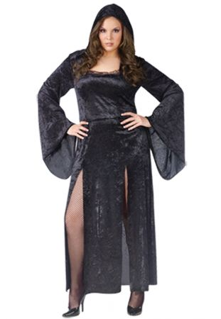 Women's Plus Size Sultry Sorceress Costume