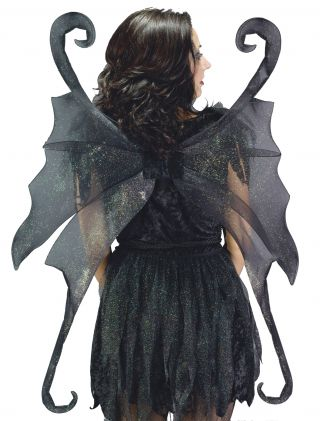 Wings Fairy Large Black