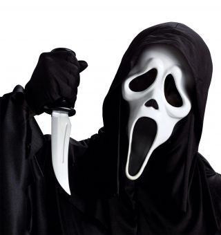 Ghostface Mask with Knife - Scream