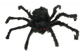 """20"""" Hairy Poseable Spider"""