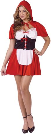 Women's Red Hot Hood Costume