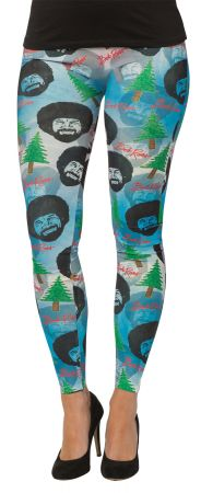 Bob Ross Leggings