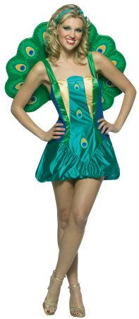 Women's Peacock Lightweight Costume