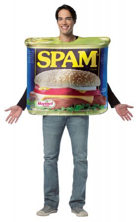 Get Real Spam Costume