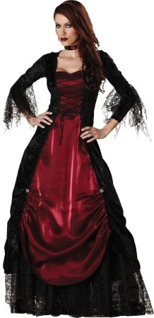 Women's Gothic Vampiress Costume