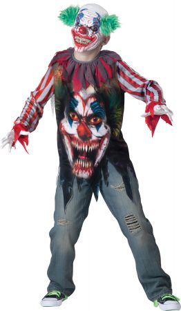 Boy's Big Top Terror Costume